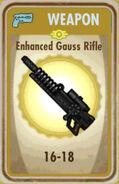 FoS Enhanced Gauss Rifle Card