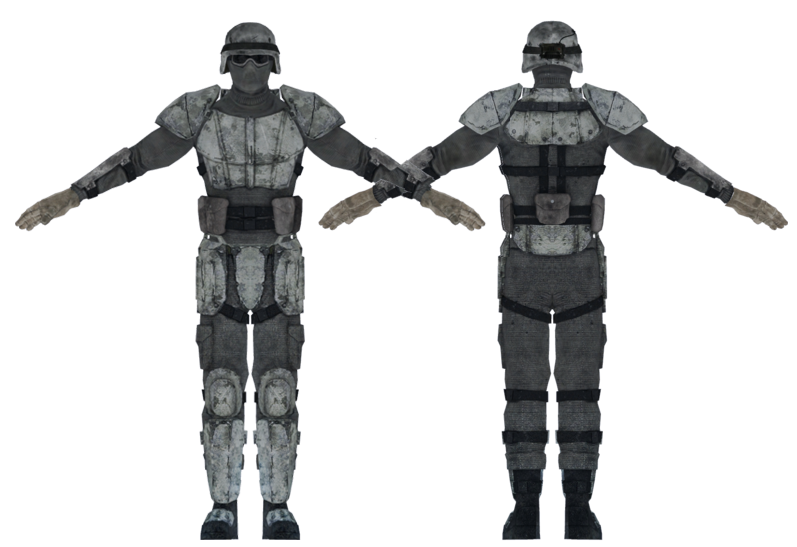 Winterized combat armor