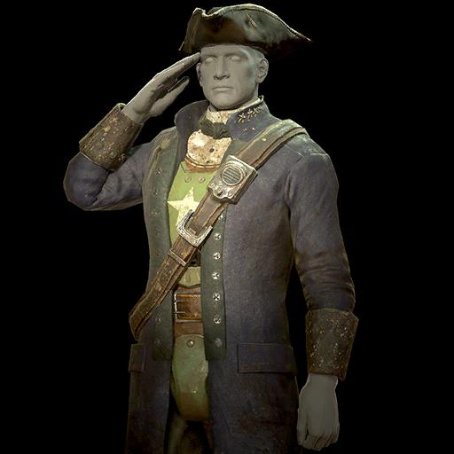 Revolutionary general's uniform