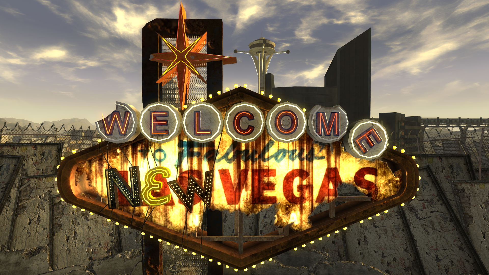 Welcome to fabulous New Vegas