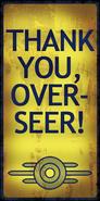 FO3 Vault Tec Overseer poster