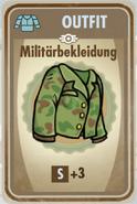 FOS Karte - Militärbekleidung