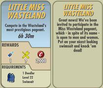 FoS Little Miss Wasteland card