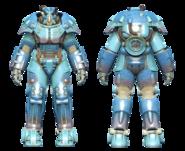 FO4 X-01 power armor Nuka-Cola Quantum