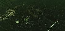 Submerged T-Rex closeup