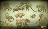 Art of Fallout 3 creatures CA1