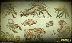 Art of Fallout 3 creatures CA1.jpg