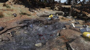 FO76SD East Mountain lookout (the weapon testing site)