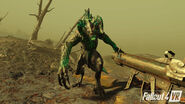 Fallout 4 VR (deathclaw attack)