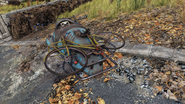 FO76 Bicycle yellow