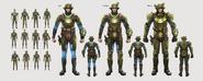Fo4 Combat Armor Concept Art