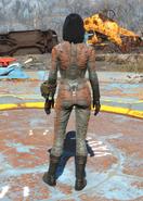 BOS Uniform Orange, Back View (Female)