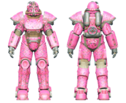 FO4CC T-51 power armor Slocum's Joe pink