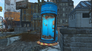 FO4 Pulowski Preservation shelter near Boston Public Library