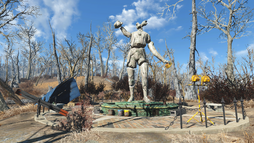 FO4 The splintered statue.png