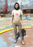 Fo4 Cappy Shirt and Jeans female