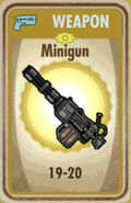 FoS Minigun Card