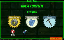 FoS Parley Time rewards