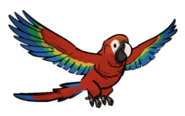 FoS pirate parrot