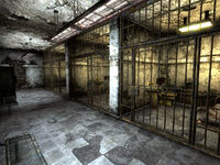 Searchlight PS jail cells