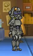 T-45 Power Armor Female