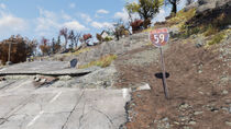 FO76 The Giant Teapot (Interstate 59)