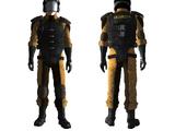 Sierra Madre armor, reinforced