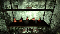 Destroyed party hats RepConn test site
