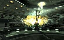 FO3MZ Death Ray control Explosion