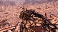 FO76 Old Pete's End (50 cal machine gun)