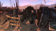FO4 Robotics disposal ground exterior 1