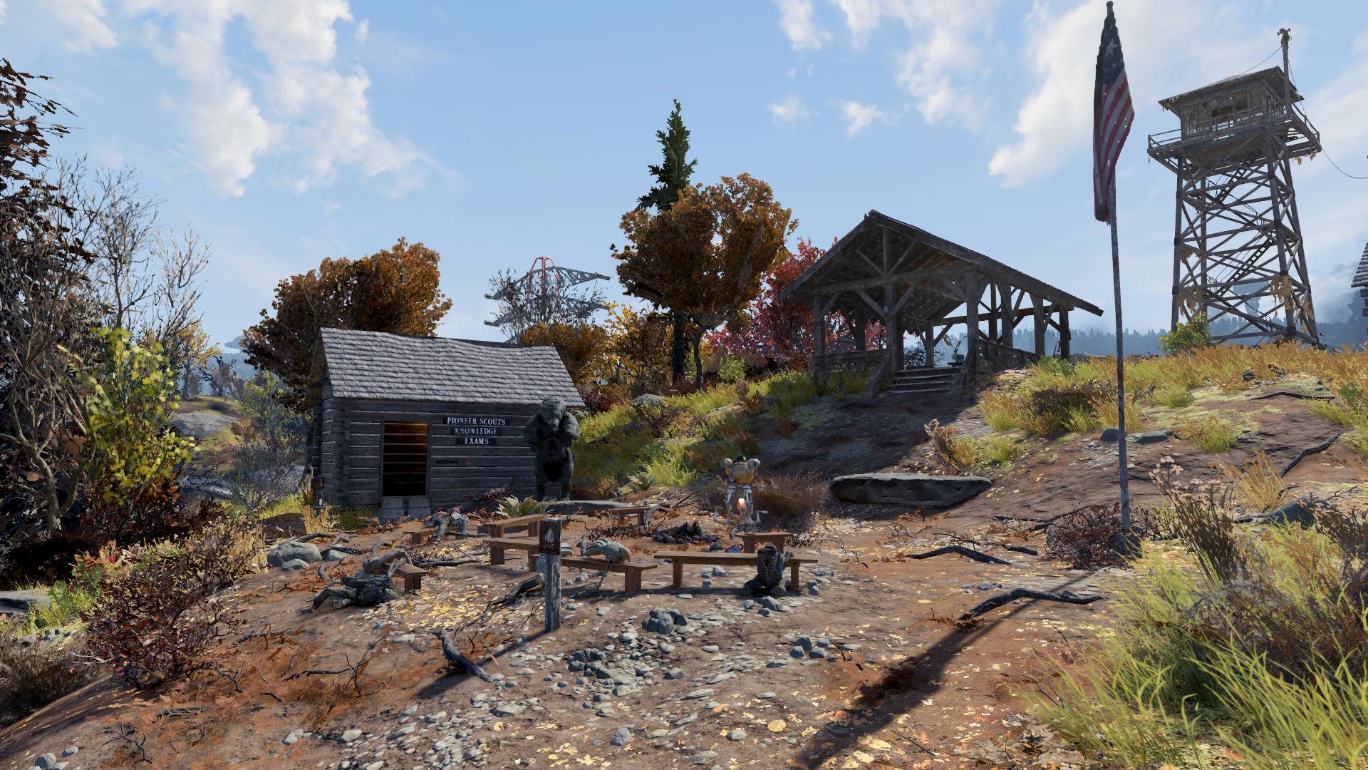 Лагерь Адамсов