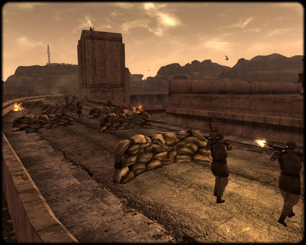 Druga bitwa o Zaporę Hoovera