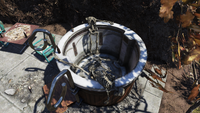 FO76 Hot tub time machine