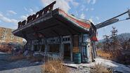FO76 Red Rocket Abandoned bog town (02)