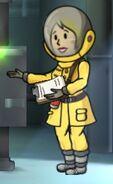 Fos Radiation suit female