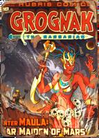 Grognak War Maiden of Mars