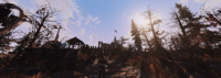 FO76WL Foundation entrance panoramic
