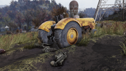 FO76 Industrial tractor yellow 10
