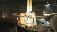 Enclave Corpse in Deathclaw containment area