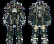 FO4CC T-45 power armor gunner corporal