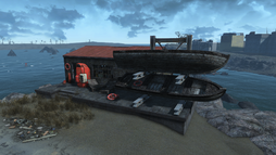 FO4 Salem coastal diner and dock.png