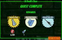 FoS At Death's Door rewards