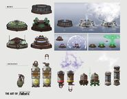 Art of Fallout 4 grenades mines
