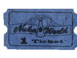 Nuka-Cade ticket