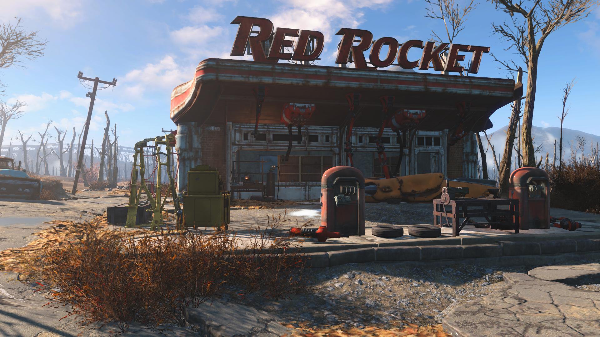 «Красная ракета» — Руины Квинси