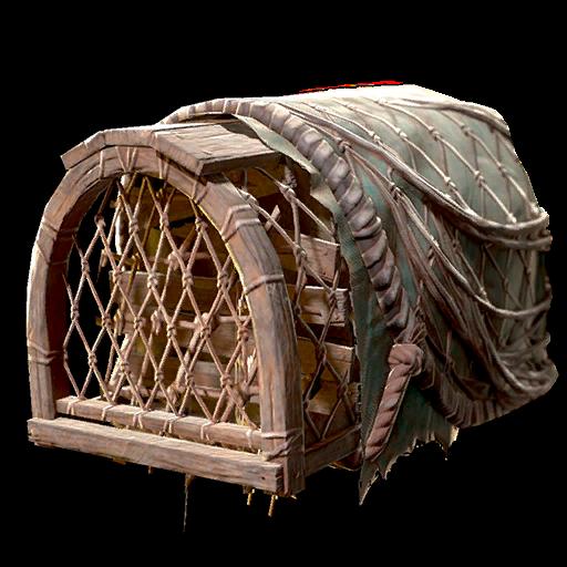 Lobster trap helmet (Fallout 76)