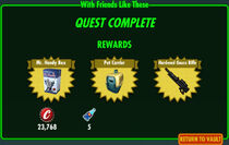 FoS With Friends Like These rewards