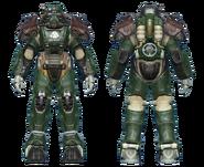 FO4CC T-60 power armor gunner corporal