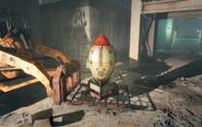 FO4 Bomb in Sentinel site